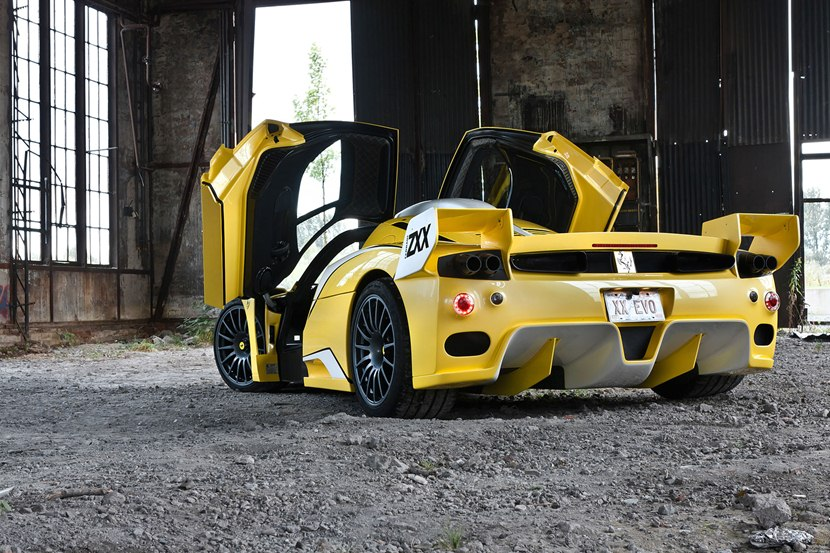 2003 Ferrari Enzo Zxx By Edo Competition Rear Photo Yellow Color