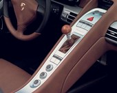 interior, wooden shift knob, wood, gear lever