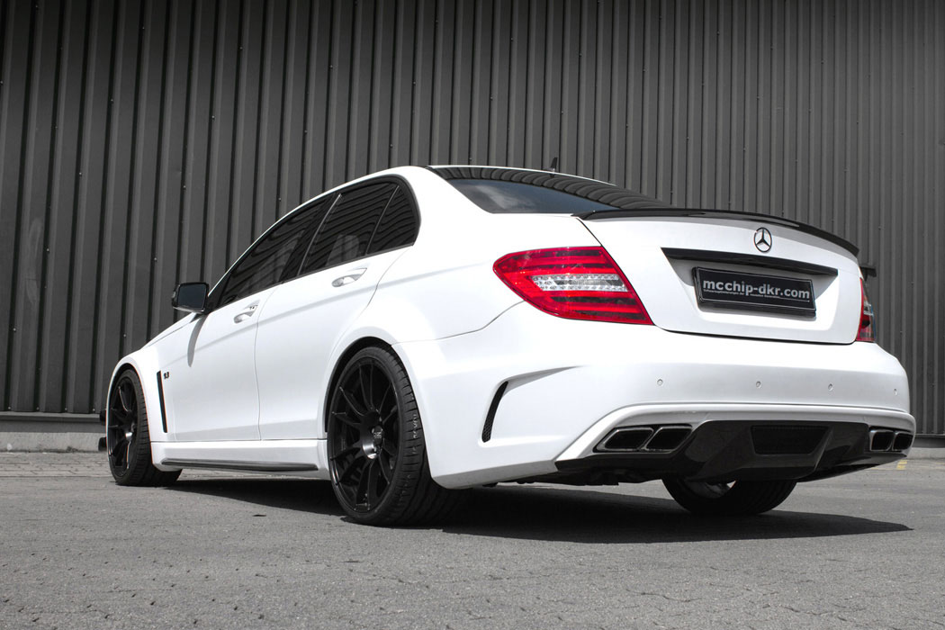 2010 mercedes benz c63 amg mc8xx by mcchip dkr rear for Mercedes benz c63 amg 2010