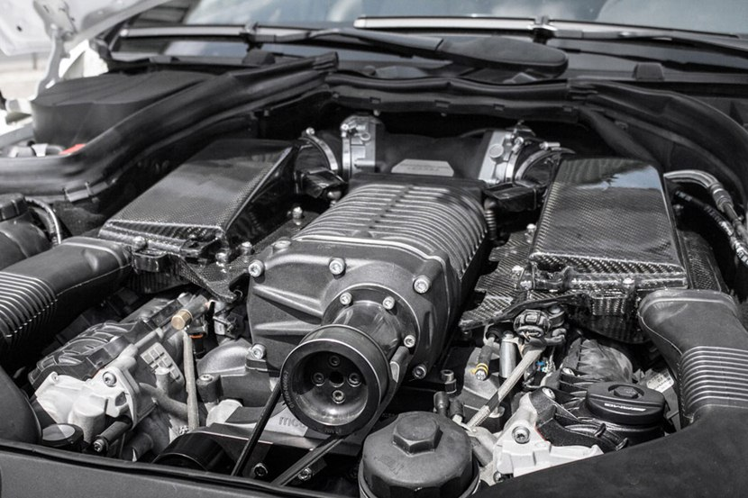 2010 Mercedes Benz C63 Amg Mc8xx By Mcchip Dkr Engine Photo Supercharged 830 Hp V8 Size