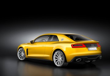 The Audi Sport quattro Concept sprints from 0 to 60 mph in 3.7 seconds while its top speed is 189 mph.