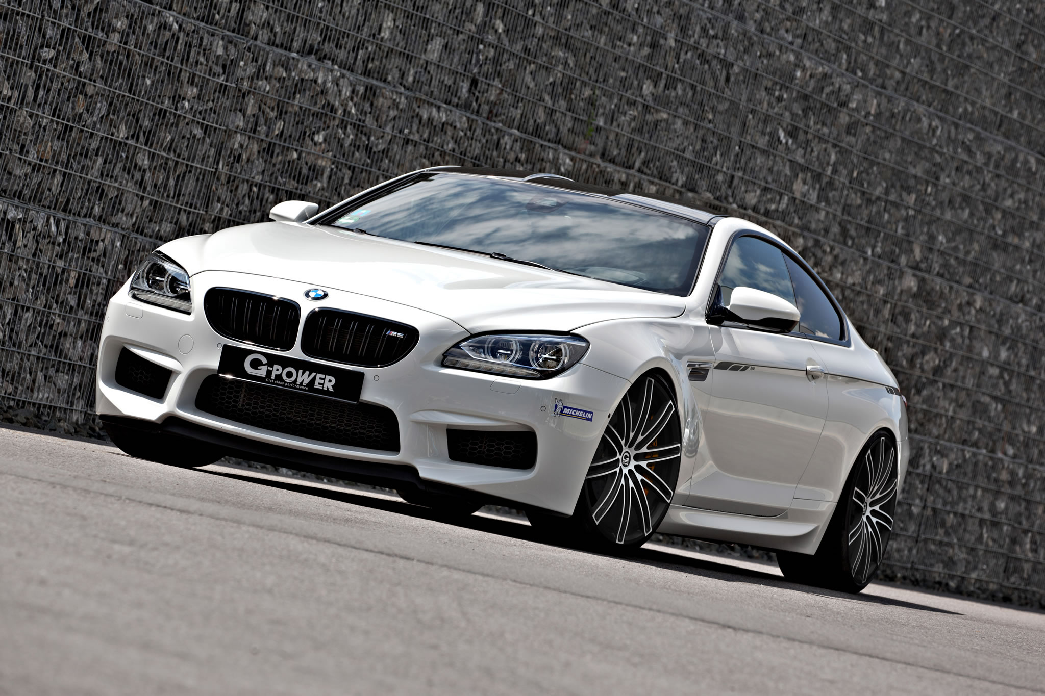 2013 BMW M6 Coupe by G-Power - front photo, white, size ...