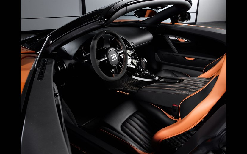 2013 bugatti veyron 16 4 grand sport vitesse wrc interior photo dashboard. Black Bedroom Furniture Sets. Home Design Ideas