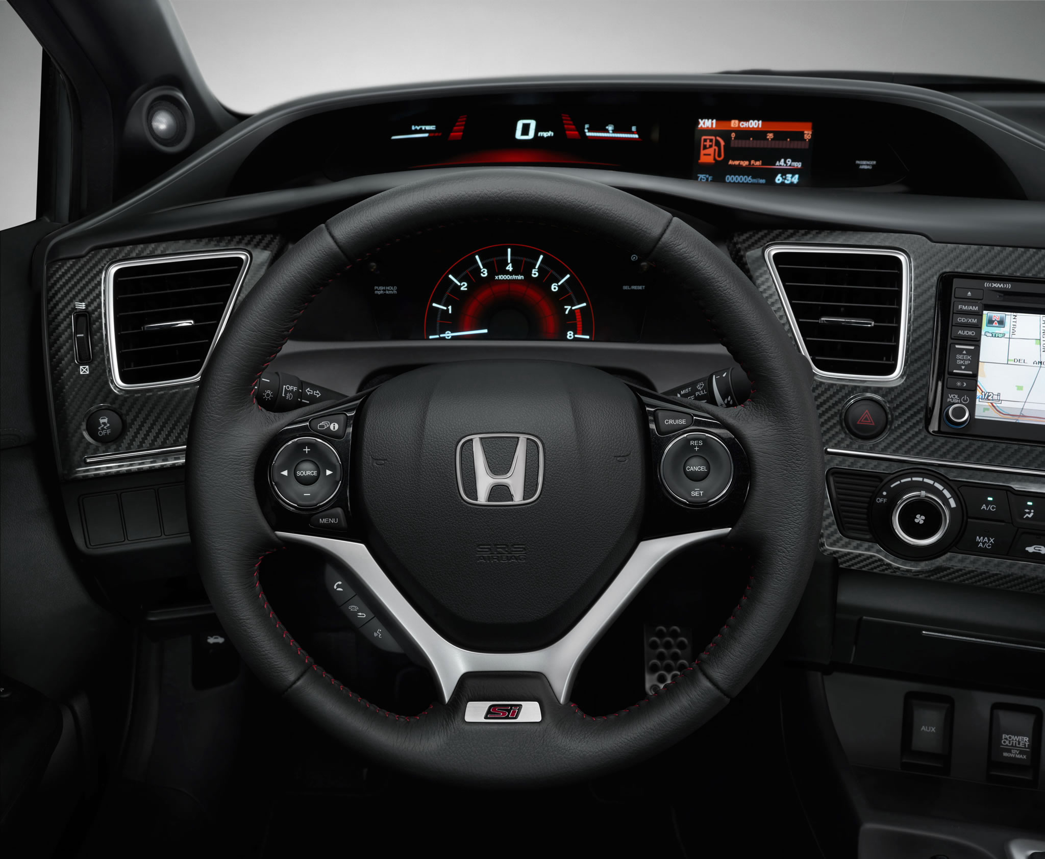 2013 honda civic si coupe interior photo steering wheel size 2048 x 1684 nr 8 25. Black Bedroom Furniture Sets. Home Design Ideas