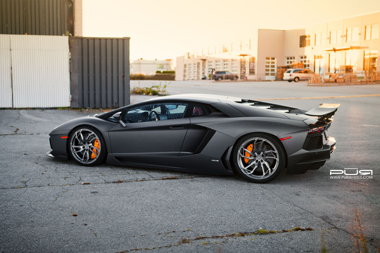 2013 Lamborghini Aventador Lp 700 4 By Pur Rear Photo