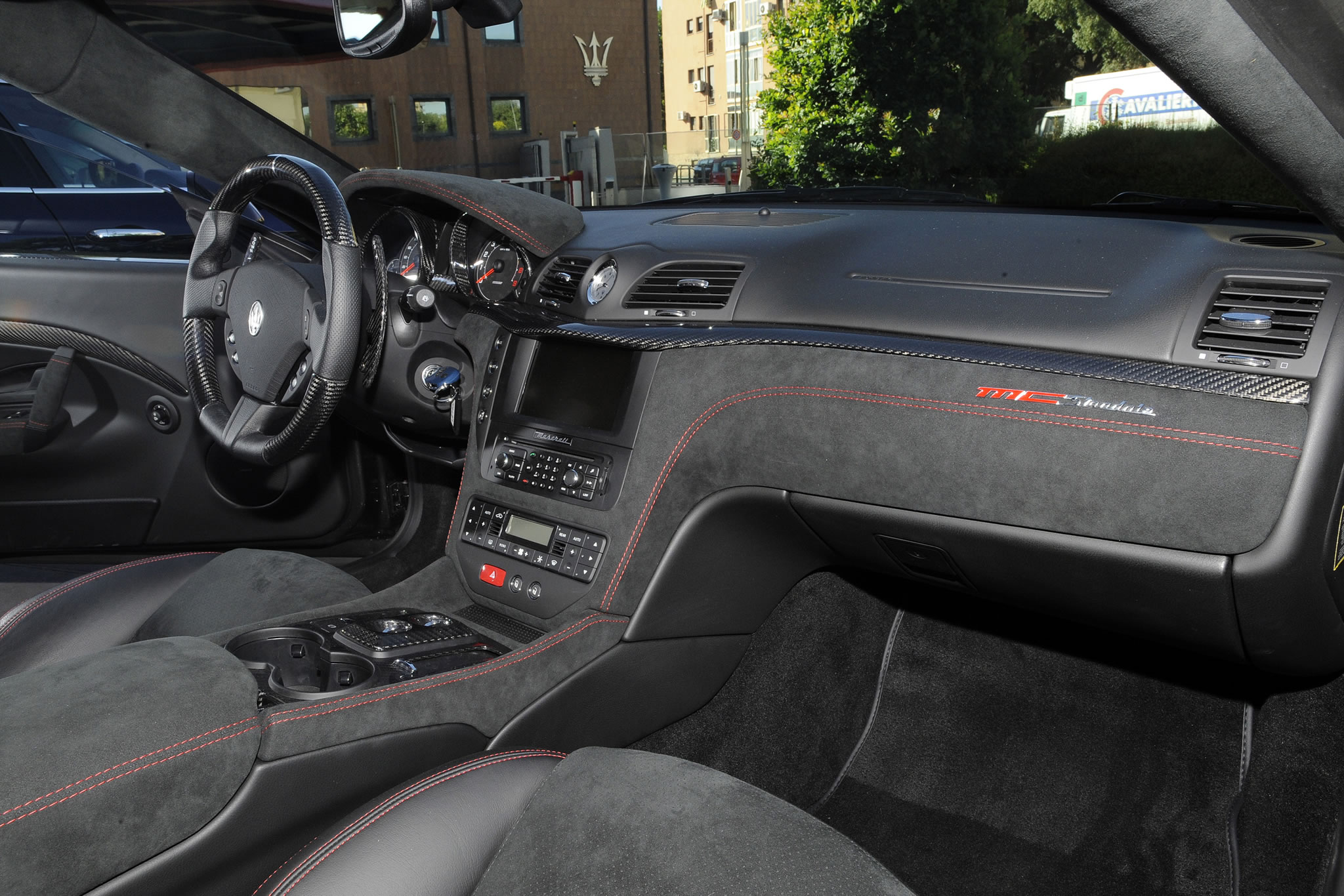 2014 Maserati Granturismo Mc Stradale Interior Photo Carbon Fiber Size 2048 X 1366 Nr 32