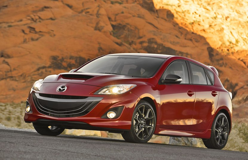 Mazdaspeed3 For Sale >> 2013 Mazda Mazdaspeed3 - front photo, Velocity Red Mica ...