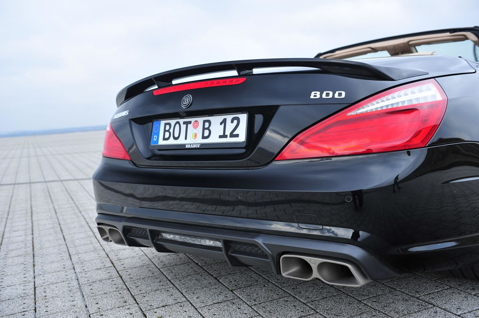 2013 Mercedes-Benz 800 Roadster by Brabus