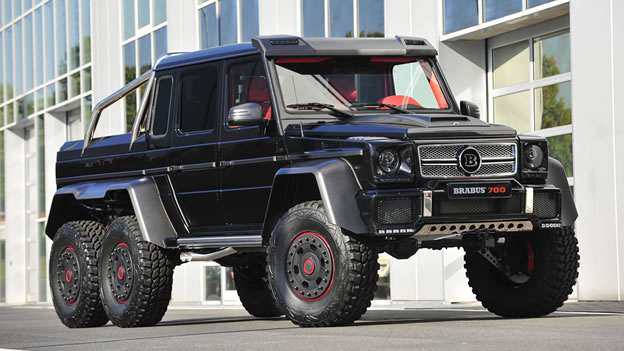 2013 Mercedes-Benz B63S 700 6x6 by Brabus