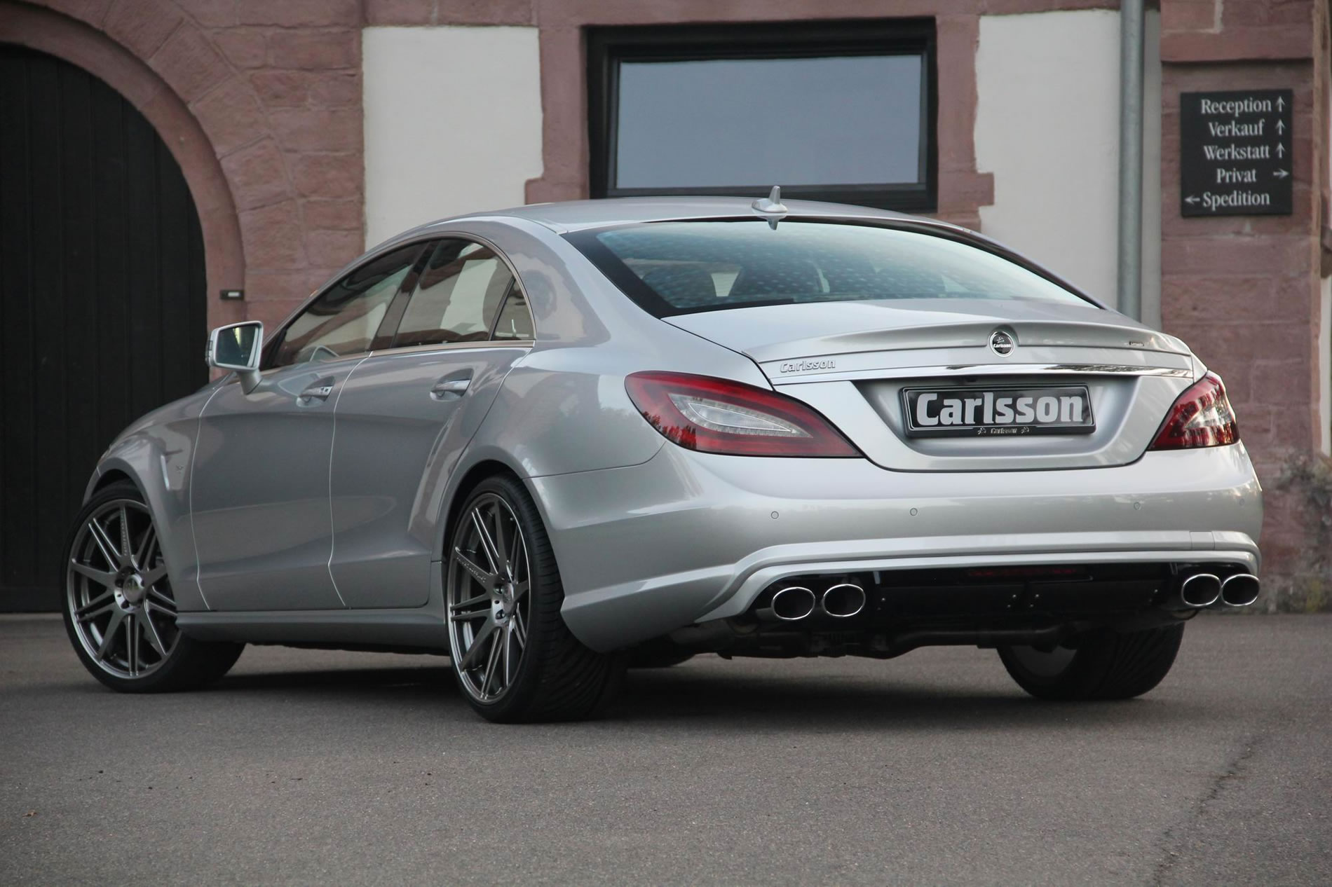 2013 mercedes benz ck63 rsr by carlsson rear photo for Mercedes benz 1900 model