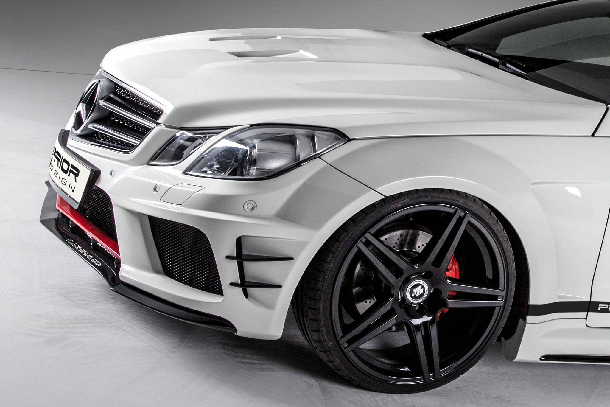 2013 mercedes benz e class coupe pd850 widebody by prior for Mercedes benz e350 tire size