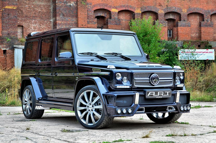 2013 Mercedes-Benz G55 AMG streetline 65 by ART - front ...