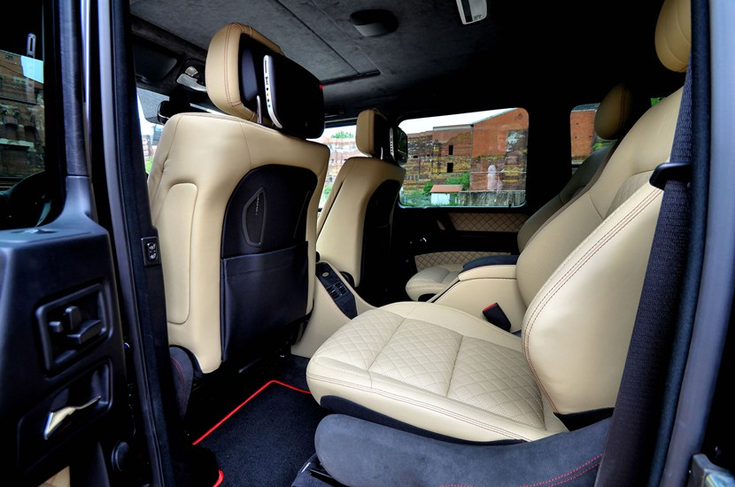 2013 Mercedes-Benz G55 AMG streetline 65 by ART - interior ...