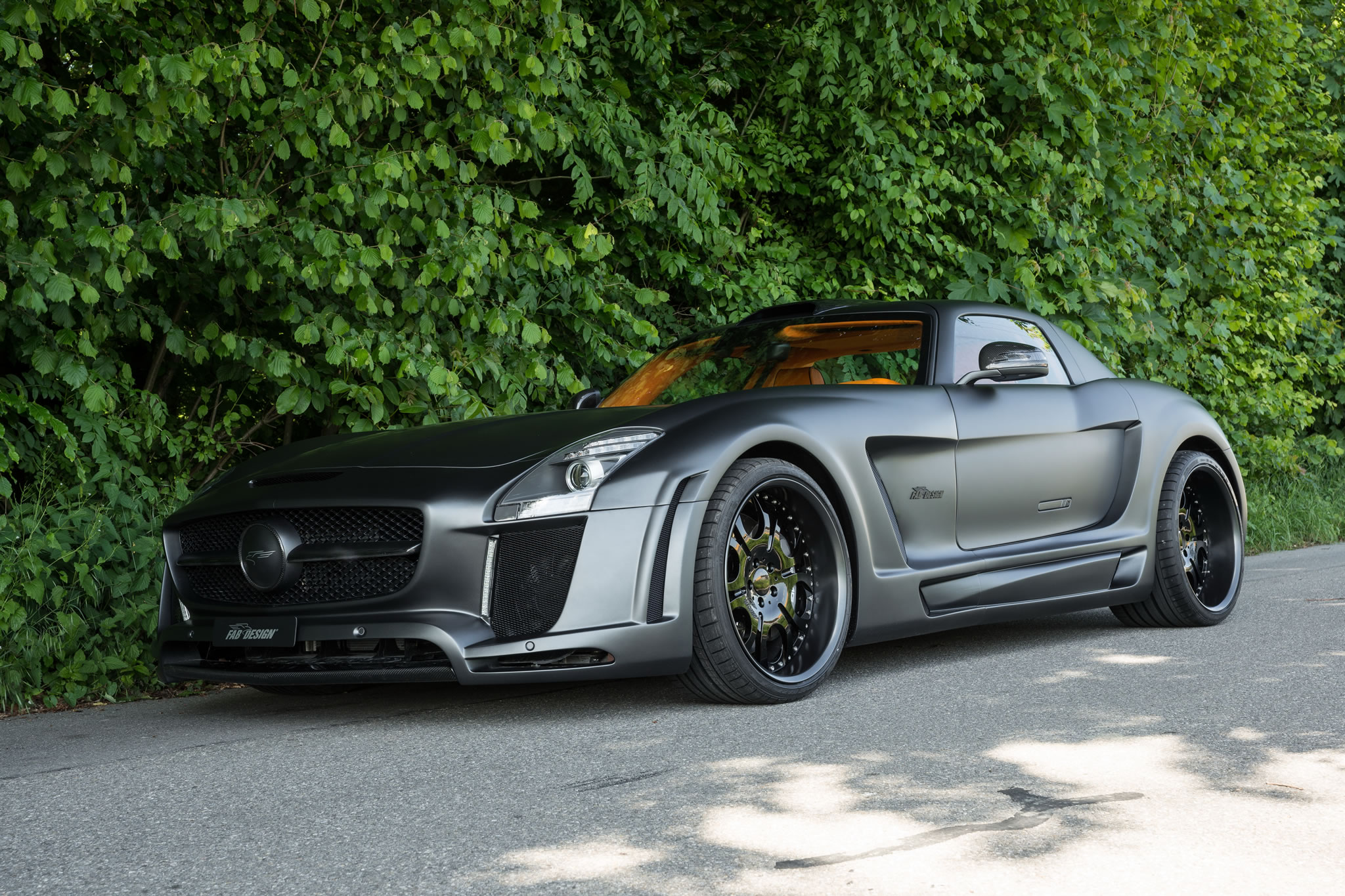 2013 Mercedes-Benz SLS AMG Gullstream by FAB Design ...