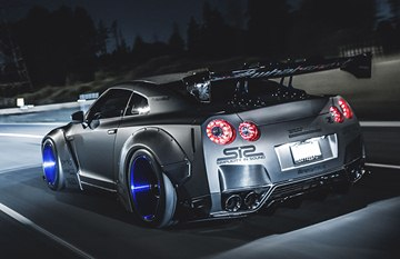 The heavily modified supercar is owned by