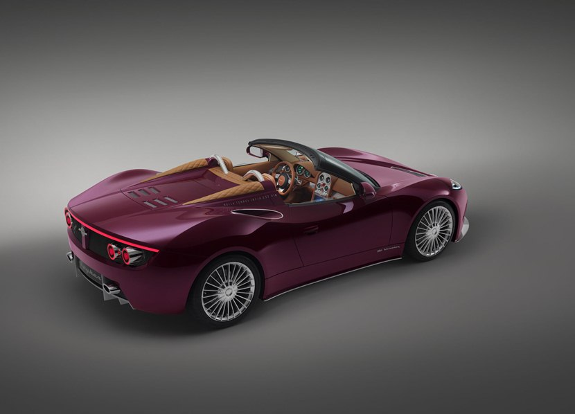 2013 Spyker B6 Venator Spyder Concept Rear Photo Rear Lights On