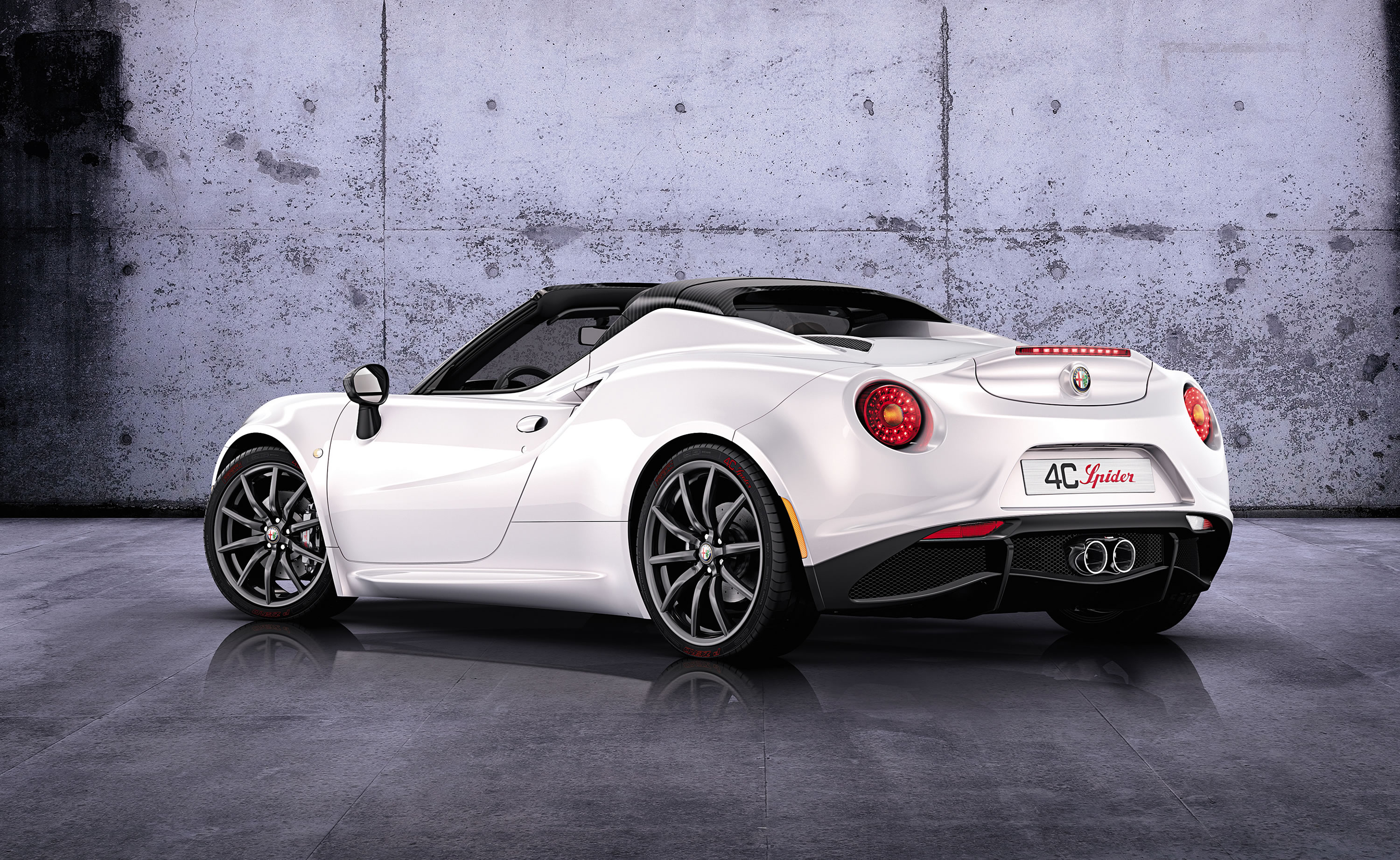 2014 alfa romeo 4c spider concept photos specs and review rs. Black Bedroom Furniture Sets. Home Design Ideas