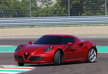 The 2014 Alfa 4C is compact, agile and engineered for pure driving satisfaction.