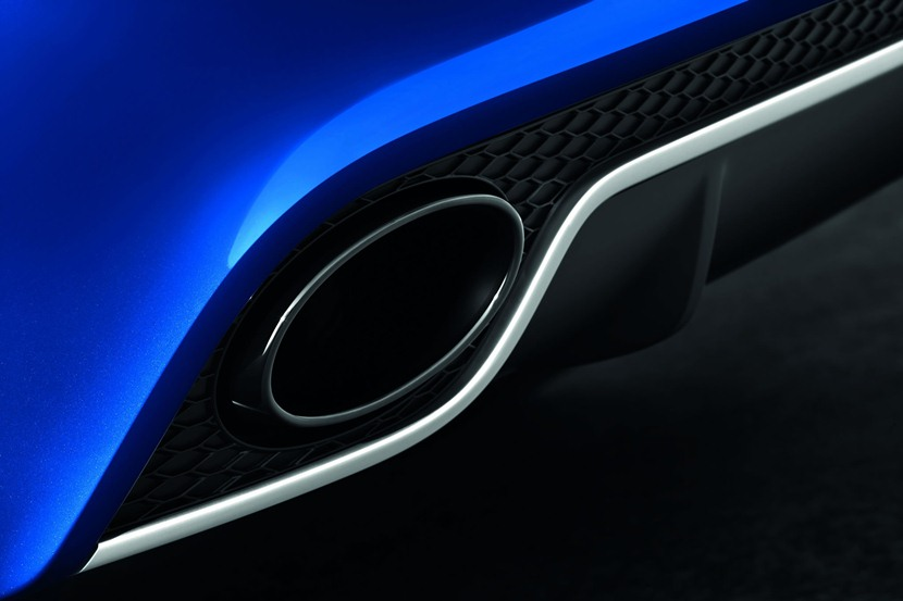 detail, exhaust tip