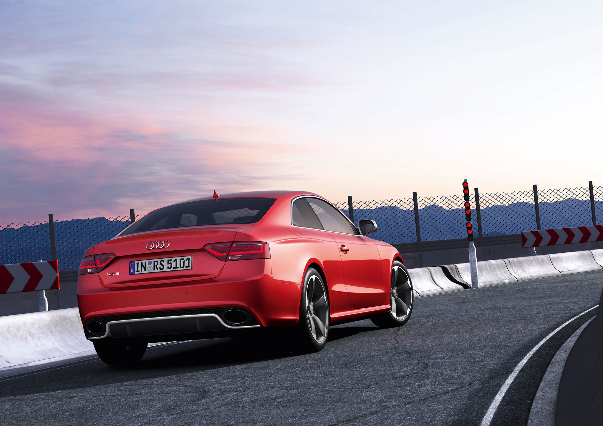 2014 audi rs 5 coupe rear photo misano red color static size 2048 x 1448 nr 33 49. Black Bedroom Furniture Sets. Home Design Ideas
