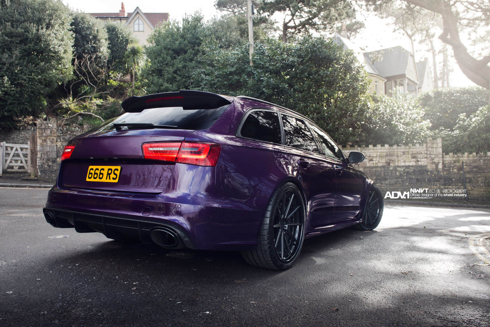Anderson Ford Mazda >> 2014 Audi RS6 by ADV.1 - rear photo, purple color, size 1600 x 1068, nr. 9/16 - RSsportscars.com