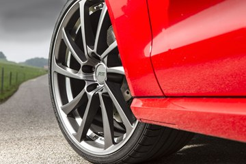 The ABT RS6 can ride on huge 22-inch wheels.