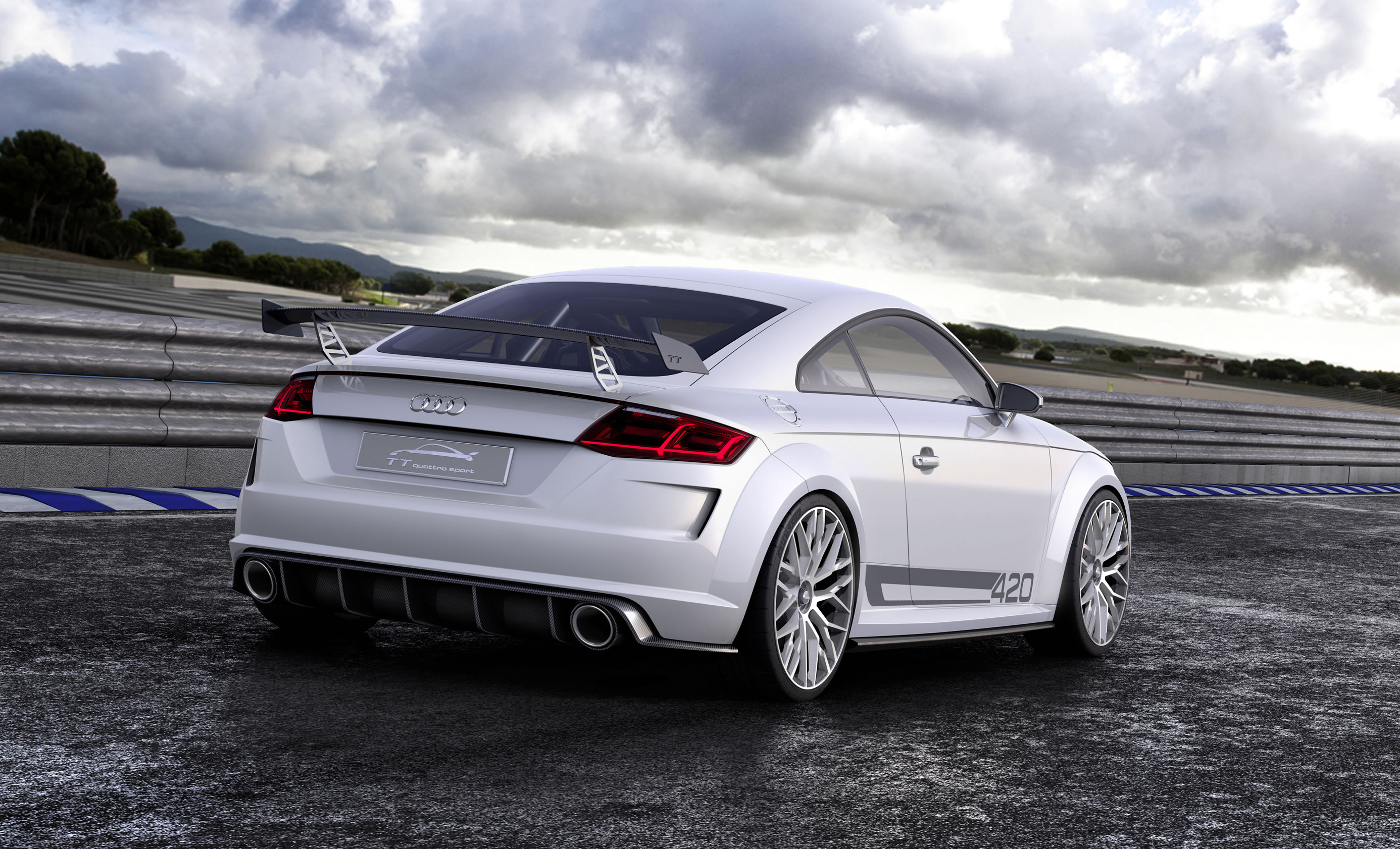 2014 audi tt quattro sport concept photos specs and. Black Bedroom Furniture Sets. Home Design Ideas