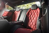 interior, leather, rear seats