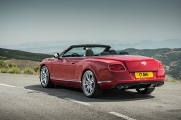 The 2014 Continental GT V8 S Convertible is a stylish, luxury open-top with sporting agility.