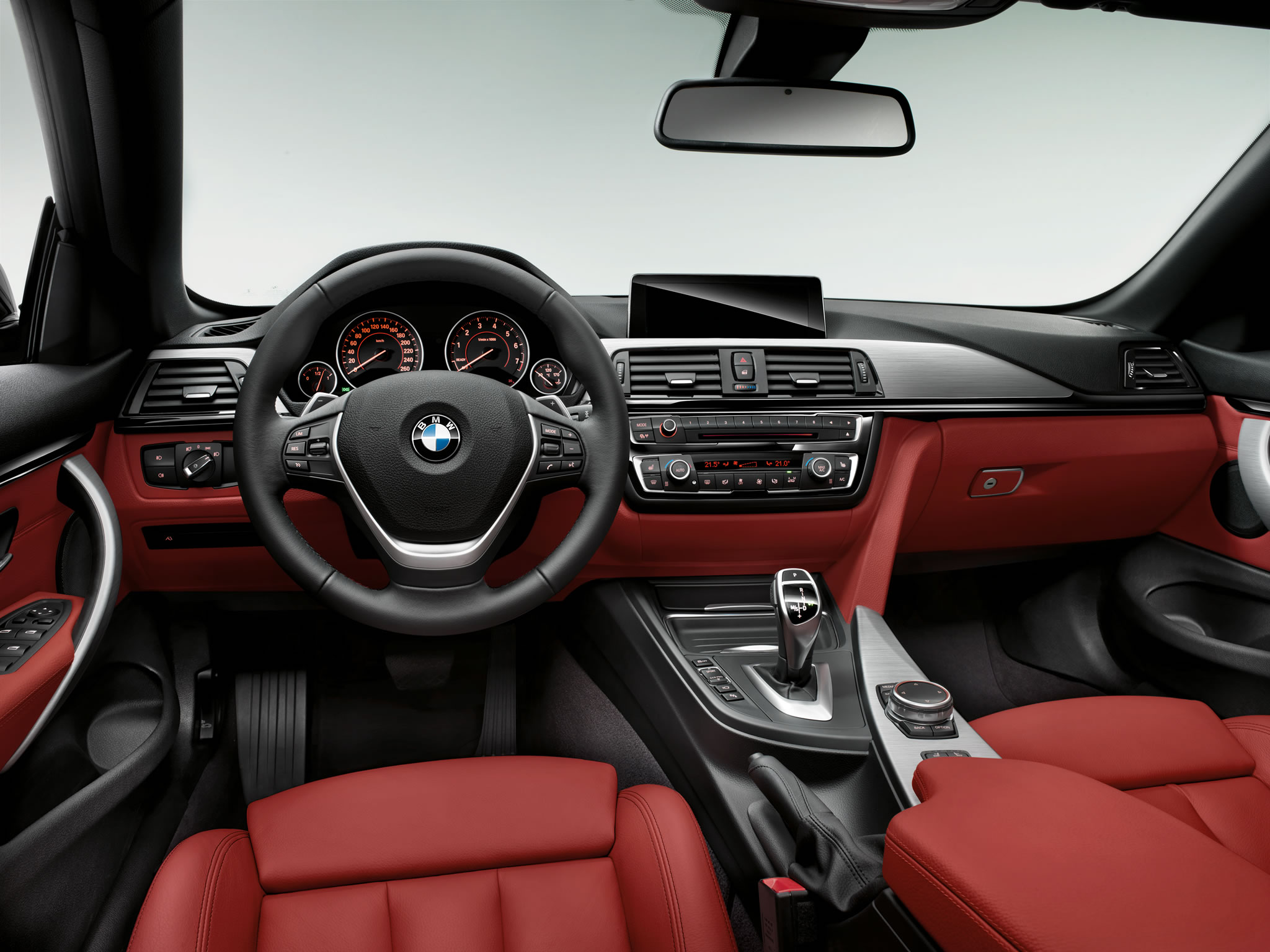 2014 Bmw 435i Convertible Interior Photo Red Leather Size 2048 X 1536 Nr 9 17