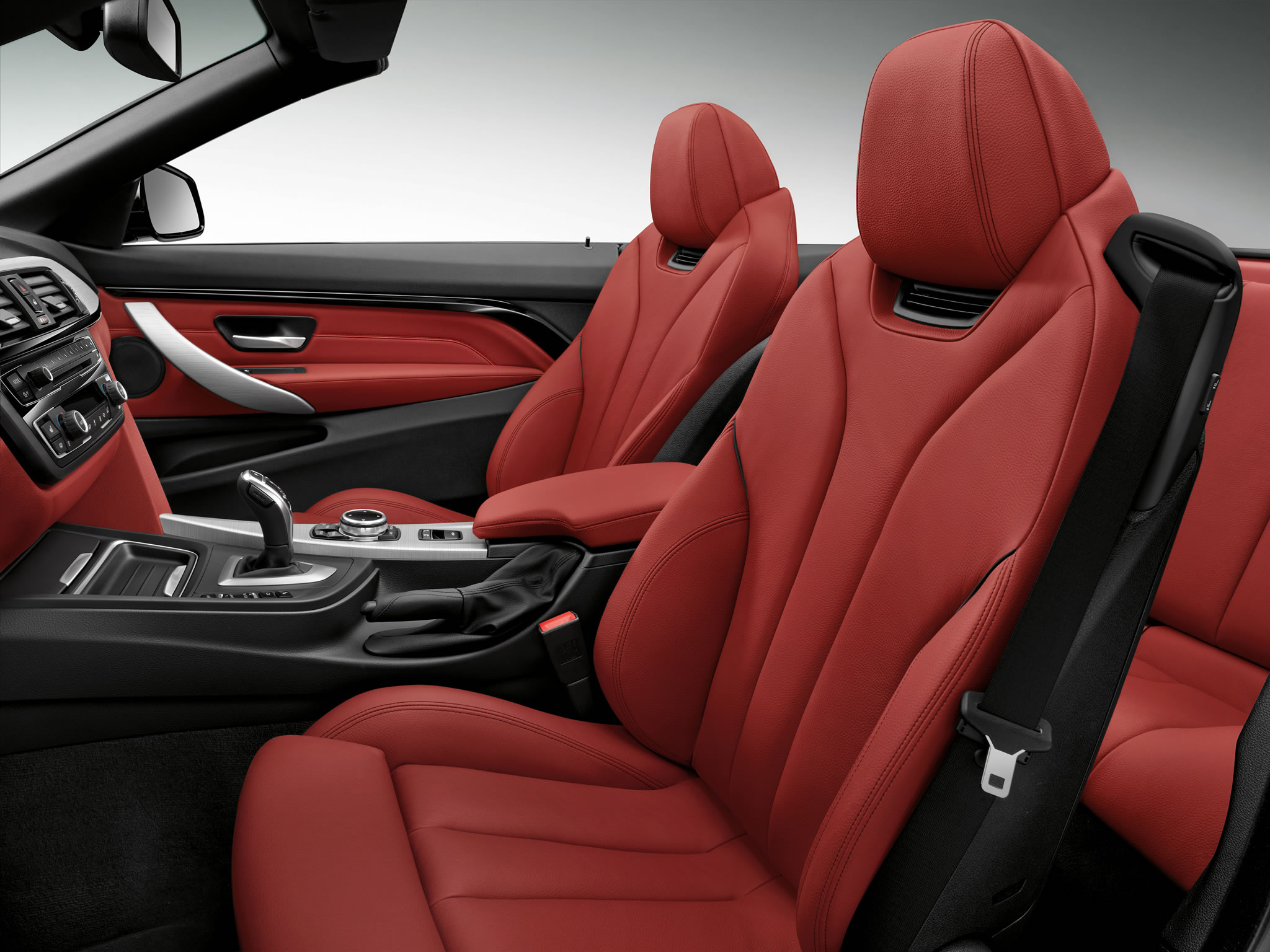 BMW Alpina B6 >> 2014 BMW 435i Convertible - interior photo, red seats, size 2048 x 1536, nr. 10/17 ...