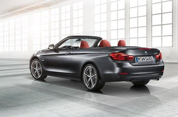 The new BMW 4 Series Convertible will be offered in the US as both a 428i, 