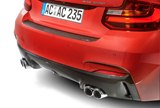 detail, four tailpipes, exhaust system