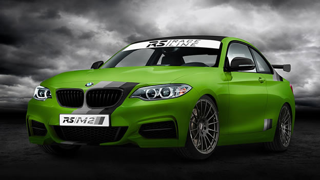2014 BMW M235i Green Hell Edition by RSRacingTeam Photos Specs