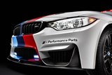 detail, BMW M Performance front splitter