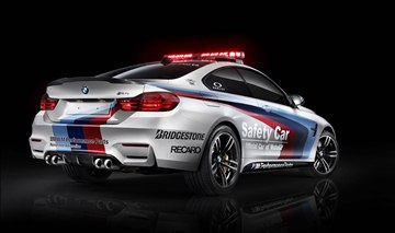The BMW M4 Safety Car features many 