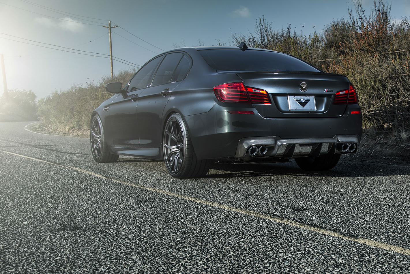 Bmw M Vorsteiner Rear on Hamann Bmw M5