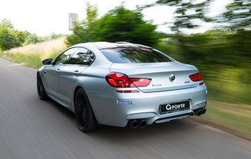The G-Power exhaust system is 