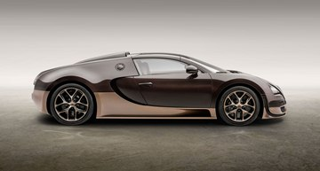 The body of the Veyron 16.4 Grand Sport Vitesse Rembrandt Bugatti was designed 