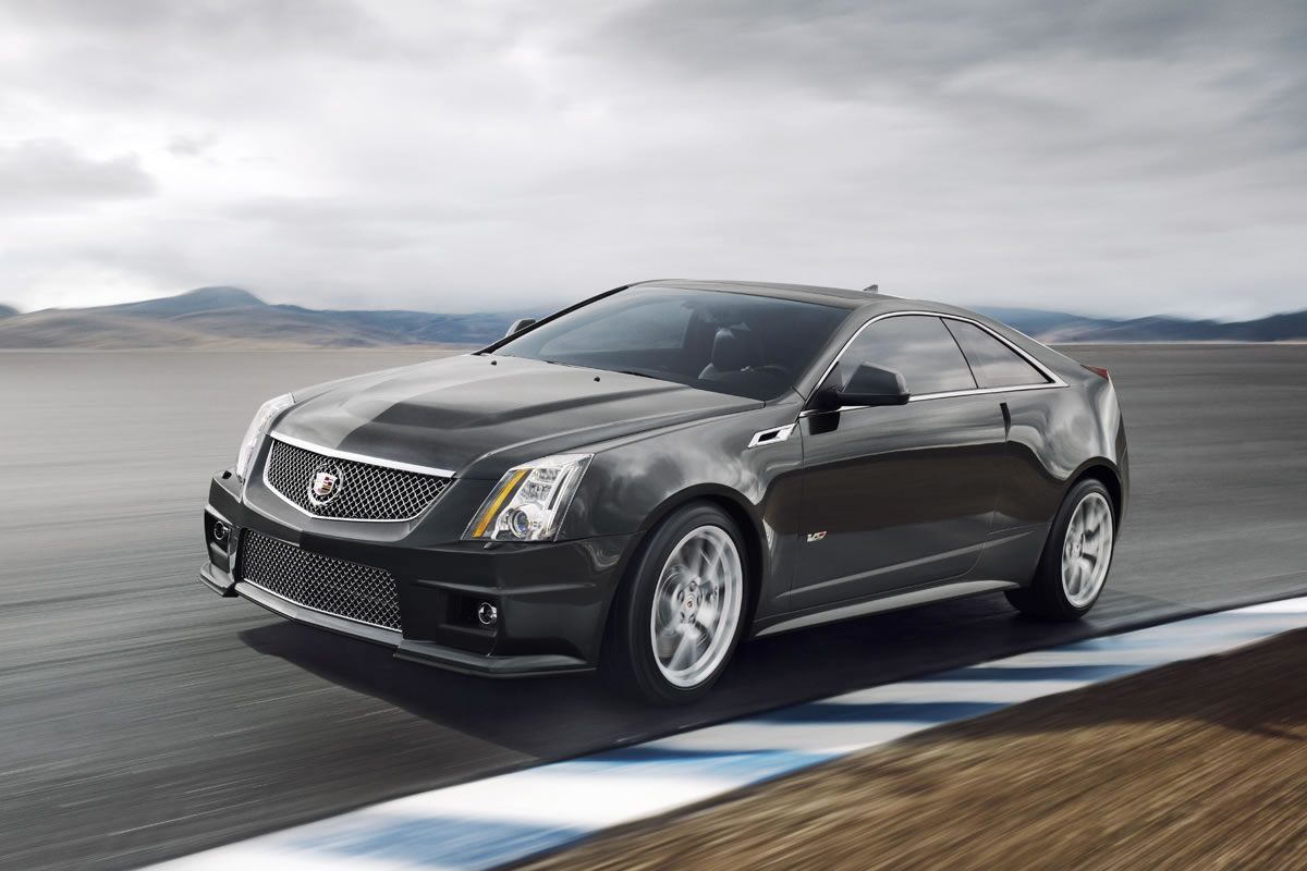 2014 cadillac cts v coupe front photo race track. Black Bedroom Furniture Sets. Home Design Ideas