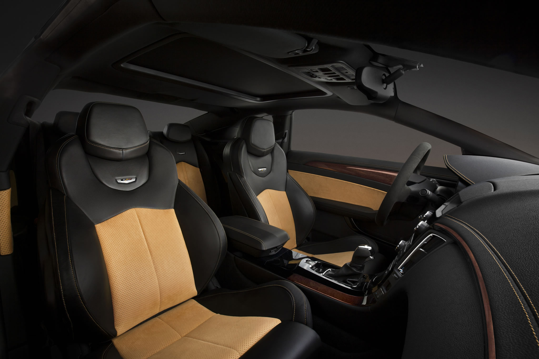 2014 Cadillac Cts V Coupe Interior Photo Front Seats Size 2048 X