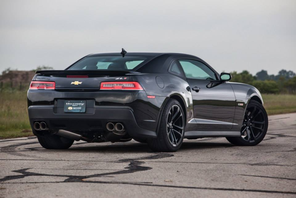 2015 Camaro Zl1 For Sale >> 2015 Chevrolet Camaro ZL1 HPE750 by Hennessey - rear photo, Black paint, size 960 x 641, nr. 4/7 ...