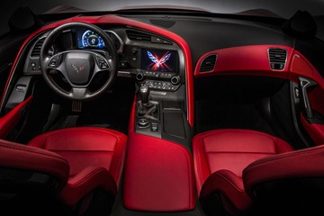 The interior offers genuine carbon fiber and aluminum trim, hand-wrapped leather materials, dual eight-inch configurable driver/infotainment screens, and two new seat choices.