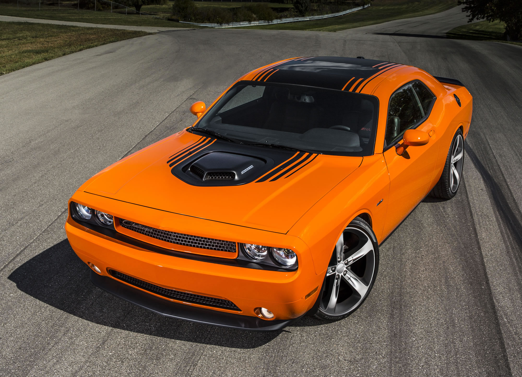 2014 Dodge Challenger R T Shaker Front Photo Header