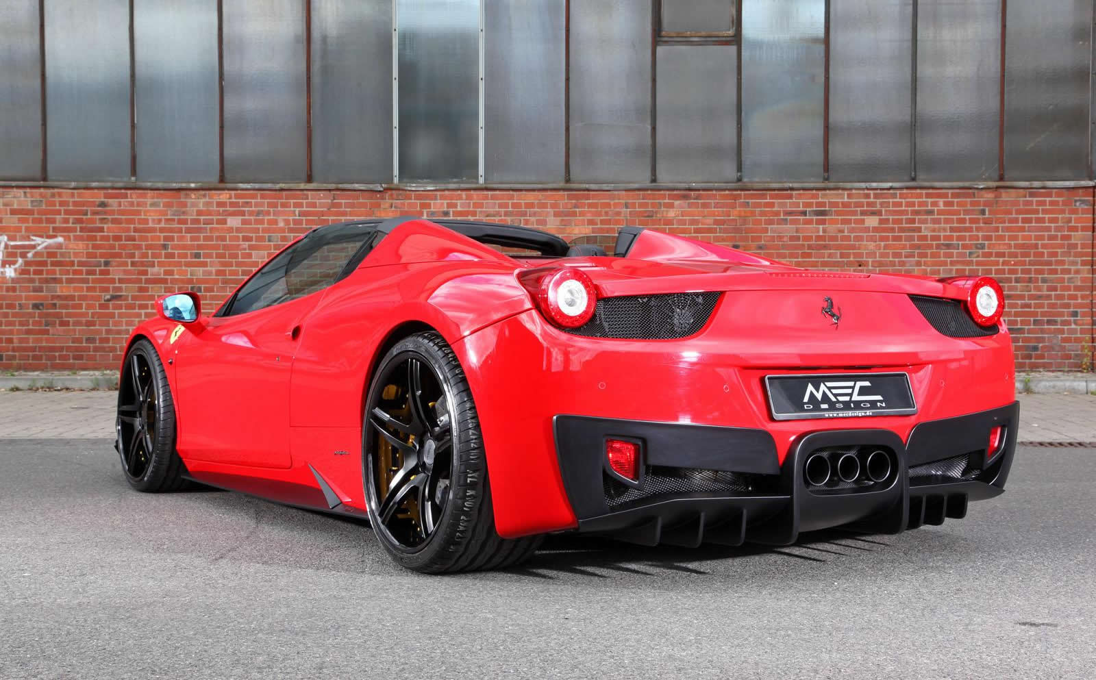 2014 ferrari 458 spider by mec design photos specs and. Black Bedroom Furniture Sets. Home Design Ideas