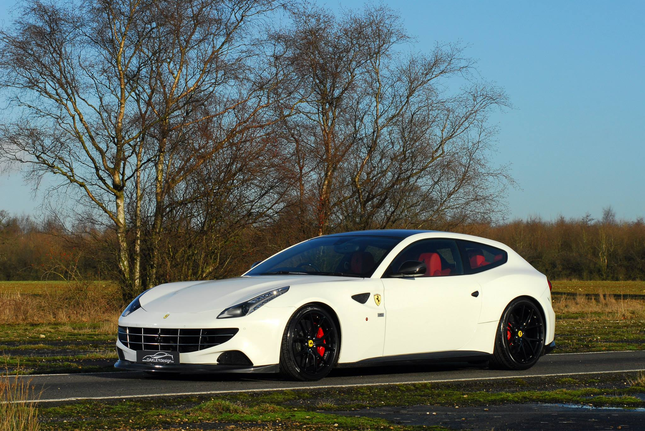 2014 Ferrari FF by Oakley Design - front photo, Bianco ...