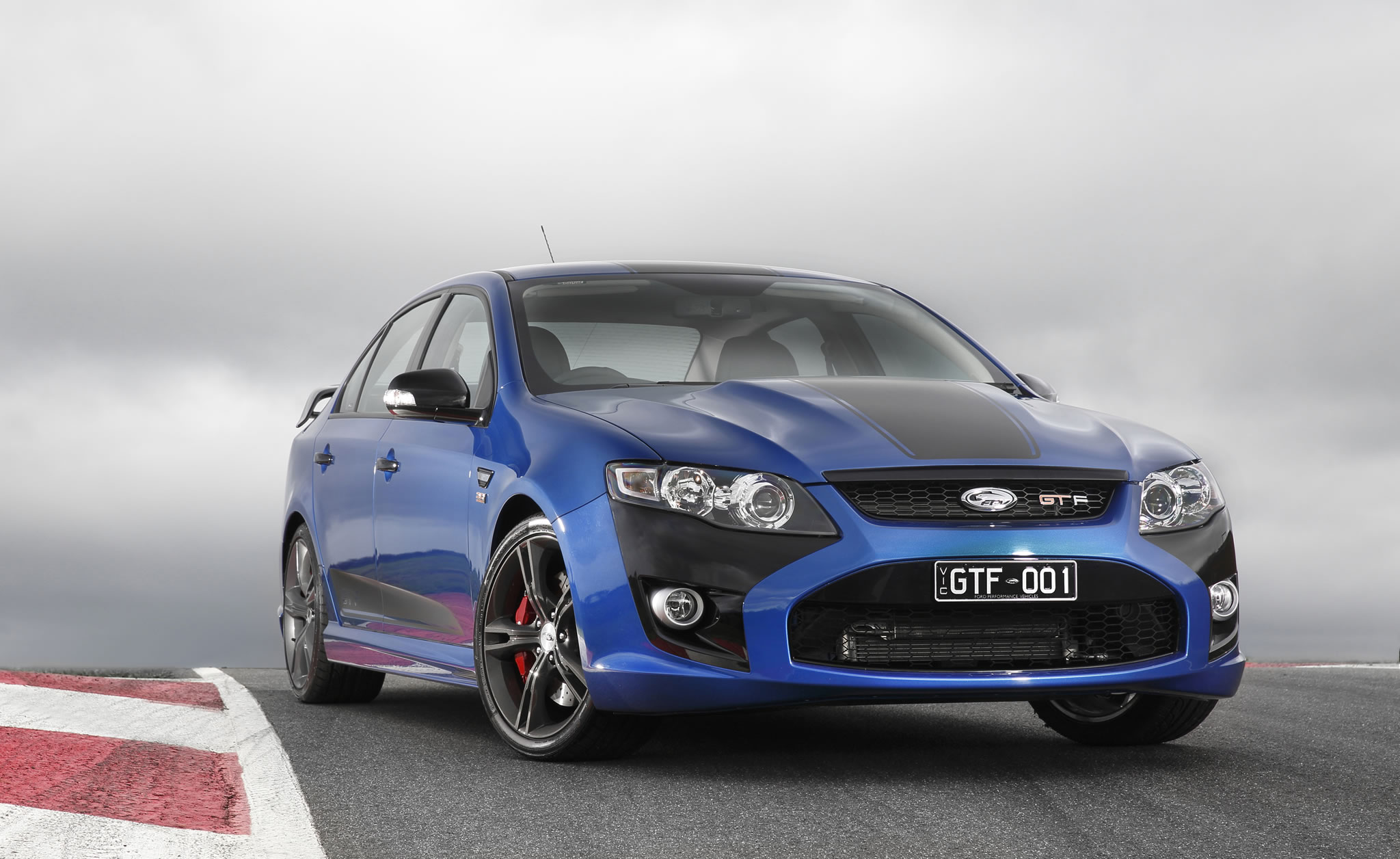 2014 Ford Fpv Gt F 351 Front Photo Kinetic Color With