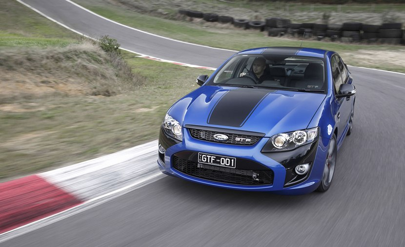 2014 Ford Fpv Gt F 351 Front Photo Kinetic Color With Matte Black
