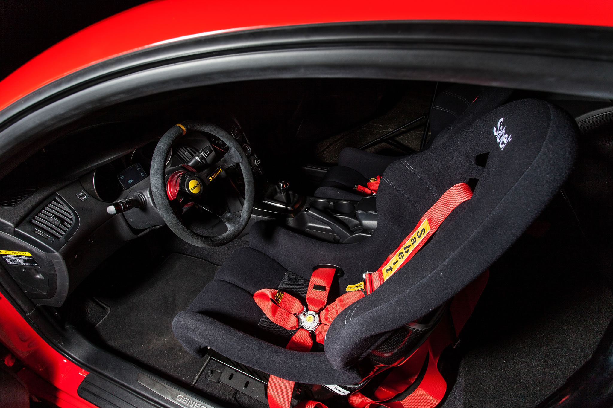 2013 Hyundai Genesis Coupe For Sale >> 2014 Hyundai Genesis Coupe by Blood Type Racing - interior photo, Sabelt racing seat, size 2048 ...