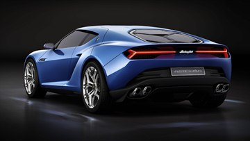 The Asterion LPI 910-4 offers a mix of elegance with the pure seduction offered by driving a Lamborghini.